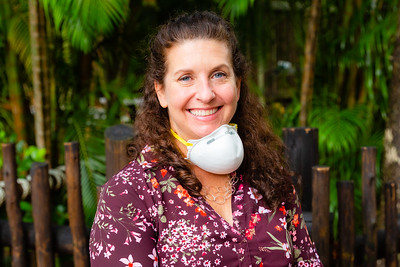 Christine DeMichael, Director of Marking and Communications at the Palm Beach Zoo in West Palm Beach on Monday, April 6, 2020. The zoo has been closed since March 18 due to the coronavirus outbreak. [JOSEPH FORZANO/palmbeachpost.com]