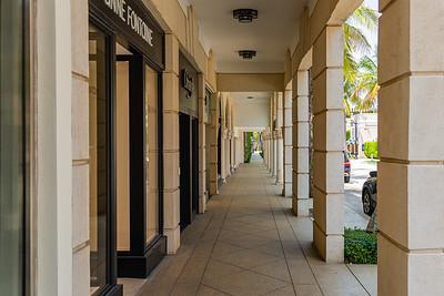 Worth Avenue in Palm Beach is devoid of shoppers, April 21, 2020. [JOSEPH FORZANO/palmbeachdailynews.com]