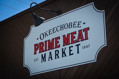The Okeechobee Prime Meat Market on Wabasso Drive in West Palm Beach, Tuesday, April 28, 2020. [JOSEPH FORZANO/palmbeachpost.com]