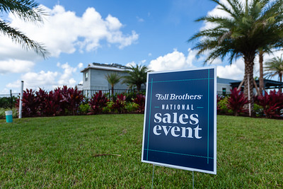 Homes are now being sold at Watermark, one of the Toll Brothers gated developments at Avenir in Palm Beach Gardens, Tuesday, June 23, 2020. [JOSEPH FORZANO/palmbeachpost.com]