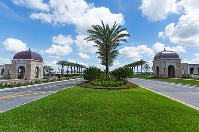 The entrance to Avenir in Palm Beach Gardens, Tuesday, June 23, 2020. [JOSEPH FORZANO/palmbeachpost.com]