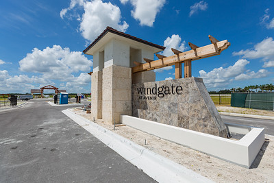 The entry to Windgate, one of the Toll Brothers gated developments at Avenir in Palm Beach Gardens, Tuesday, June 23, 2020. [JOSEPH FORZANO/palmbeachpost.com]
