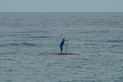 A man paddle boards off of Midtown Beach in Palm Beach, Sunday, June 28, 2020. [JOSEPH FORZANO/palmbeachpost.com]