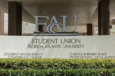 Florida Atlantic University Student Union on the FAU campus in Boca Raton, Tuesday, August 11, 2020. [JOSEPH FORZANO/palmbeachpost.com]