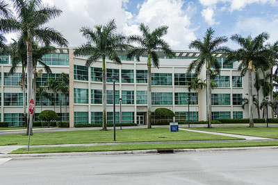 The College of Medicine on the FAU campus in Boca Raton, Tuesday, August 11, 2020. [JOSEPH FORZANO/palmbeachpost.com]