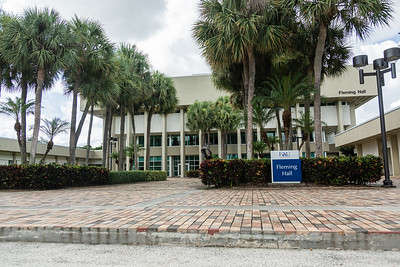 Fleming Hall at the College of Business Complex on the FAU campus in Boca Raton, Tuesday, August 11, 2020. [JOSEPH FORZANO/palmbeachpost.com]