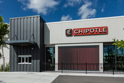 Chipotle Mexican Grill opened a new location at 7000 Okeechobee Blvd., in West Palm Beach, featuring a Chipotlane, a drive-thru pickup lane allowing customers to pick up digital orders without leaving their cars. Image captured Wednesday, September 23, 2020. [JOSEPH FORZANO/palmbeachpost.com]
