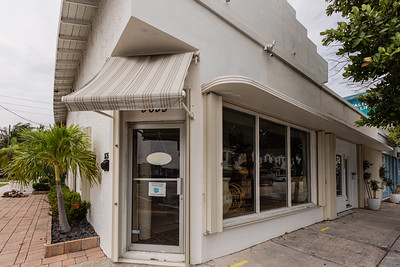 Faustina Pace Antiques & Interiors, one of the many storefronts on Antique Row on Dixie Highway in West Palm Beach, Wednesday, November 11, 2020. (JOSEPH FORZANO / THE PALM BEACH POST)