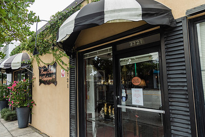 Storefront of Brass Scale Antiques on Antique Row in West Palm Beach, Wednesday, November 11, 2020. (JOSEPH FORZANO / THE PALM BEACH POST)