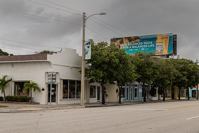 Some of the antique shops along Antique Row in West Palm Beach, November 11, 2020. (JOSEPH FORZANO / THE PALM BEACH POST)