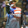 Ring announcer and clown FLINT RASMUSSEN during the final round at the Professional Bull Riders Built Ford Tough Series, Bass Pro Chute Out presented by Cooper Tires at the Scottrade Center in St. Louis, Missouri
