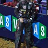 Rider AUSTIN MEIER during the second round at the Professional Bull Riders Built Ford Tough Series, Bass Pro Chute Out presented by Cooper Tires at the Scottrade Center in St. Louis, Missouri