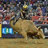 Rider SILVANO ALVES  during the second round at the Professional Bull Riders Built Ford Tough Series, Bass Pro Chute Out presented by Cooper Tires at the Scottrade Center in St. Louis, Missouri