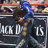 Rider DOUGLAS DUNCAN during the second round at the Professional Bull Riders Built Ford Tough Series presented by Cooper Tires at the Scottrade Center in St. Louis, Missouri