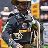 Rider CODY NANCE  during the first round at the Professional Bull Riders Built Ford Tough Series, Chute Out presented by Cooper Tires at the Scottrade Center in St. Louis, Missouri