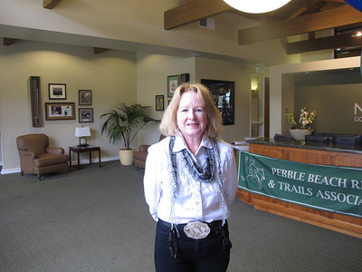 Equestrian Mary Wiltse, previously co-editor of the PBEC trails newsletter. Her forte is graphics and layout. She was instrumental in the layout of the new trails map