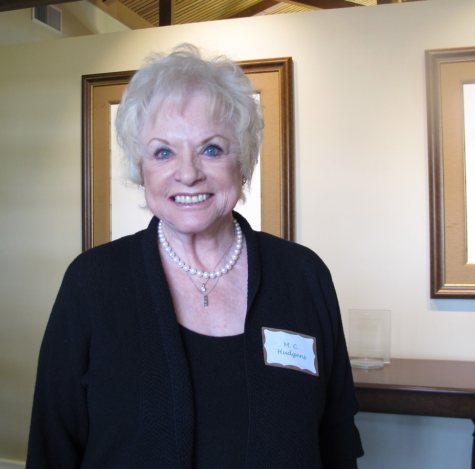 M. C. Hudgens, long time member and supporter of PBRTA