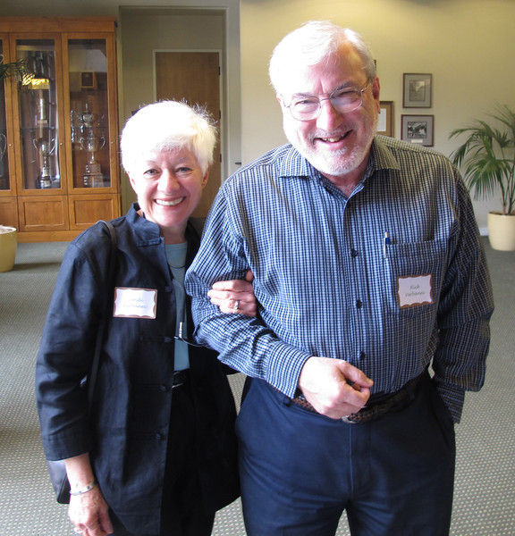 Sandi & Rick Verbanec--Sandi was a PBRTA board member '01-'08, Sec '04-'06, VP ''07-'08, co-chair of A Table Affair '03-'12, and is the graphics designer of PBRTA invitations and other literature, including the new trails map. Rick has long been a friend of the trails and put together the 2002 and the 2011 versions of the trails map, making 16 or so revisions to the map to accurately depict the trails and to save some of the older historic names of trail segments and markers.