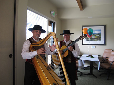 Local musicians, the Bolero Brothers played a mix of contemporary favorites with wonderful new sounds! We loved them!