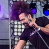 """Reggie Watts<br /> ©Nick Zethof <br />  <a href=""""http://www.facebook.com/darklakephotography/"""">http://www.facebook.com/darklakephotography/</a>"""
