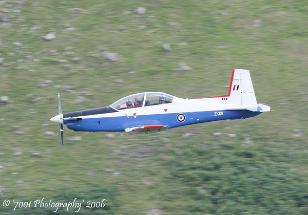 ZK119 (BAe Systems) PC-9 - 16th August 2006.