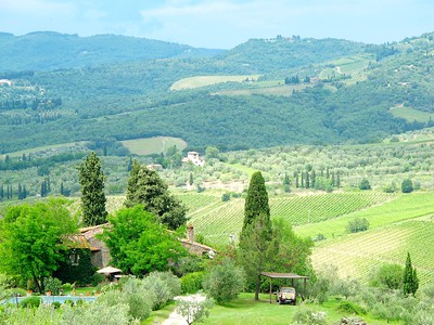 PC101 - CHIANTI CLASSICO - Delightful Stone Property in Enchanting Location