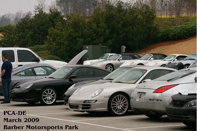 PCA-DE Barber Motorsports Park 3/2009