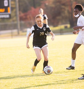 Scenes from Pell City-Childersburg girls soccer game with Pell City winning the game 10-0.