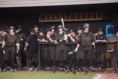 Scenes from the Pell City-Oxford baseball game Tuesday night with Oxford winning the regional contest 10-5 . The two teams play again Wednesday at Choccolocco Park in Oxford.