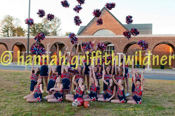 "2009 Peachtree Patriot Cheerleader Team ""PROOFS"""