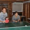 Ping-pong fun in the game barn!