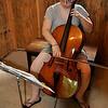 Practicing Cello