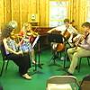 Sarah, Olivia, Ian & Henry playing Haydn String Quartet Op. 24
