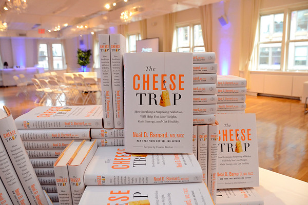 PCRM Presents the Cheese Trap Book Event 041317