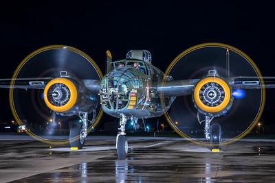 North American B-25J-30-NC 44-86777 N345BG 7-17-21 3