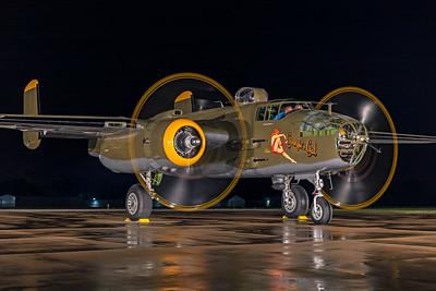 North American B-25J-30-NC 44-86777 N345BG 7-17-21 5