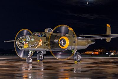 North American B-25J-30-NC 44-86777 N345BG 7-17-21 6