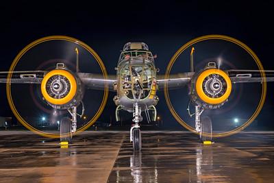 North American B-25J-30-NC 44-86777 N345BG 7-17-21 4