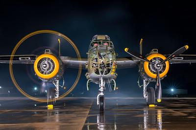 North American B-25J-30-NC 44-86777 N345BG 7-17-21 2
