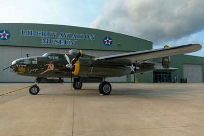 North American B-25J-30-NC 44-86777 N345BG 7-17-21