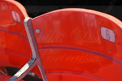 Shea Stadium seats