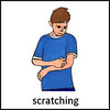 Scratching