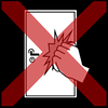 door knocking red cross
