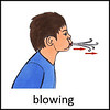 Blowing