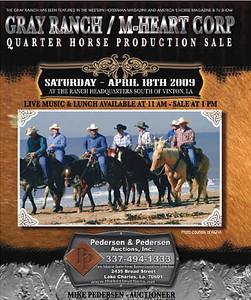 Gray Ranch / M-Heart Corp Production Sale -  April 18, 2009