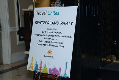 Switzerland Cocktail Party hosted by Switzerland Tourism