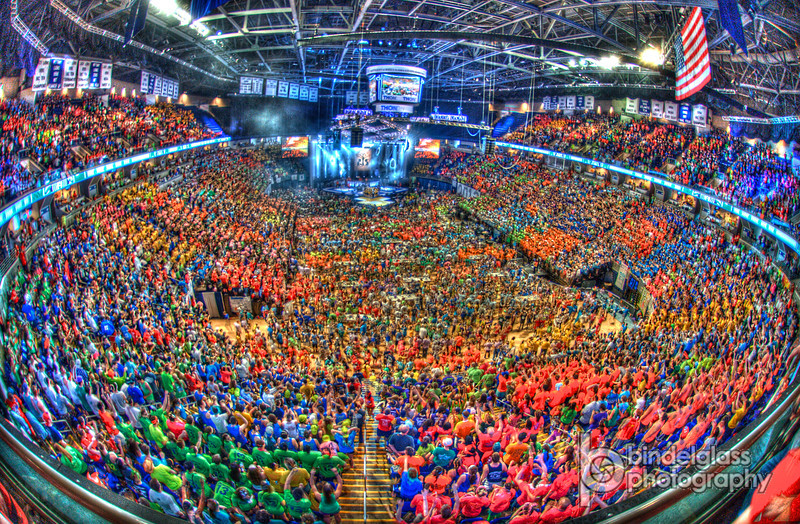 PENN STATE - THON 2013.  THON is the largest student run philanthropy in the world. Raising money for pediatric cancer research and for the families affected.