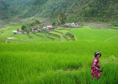 IFUGAO LADY - BANAUE, PHILIPPINES