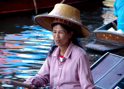 FLOATING MARKET - THAILAND