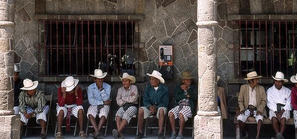 TZ'UTUJIL MEN - SANTIAGO DE ATITLAN, GUATEMALA